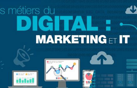IT, Marketing : qui sont les professionnels du Digital ?